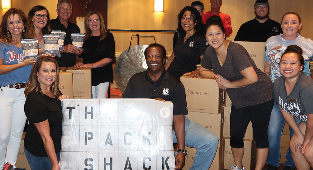 """The Sheraton Oklahoma City Downtown Hotel supported """"Feed the Funnel"""" to help end hunger in Oklahoma City."""